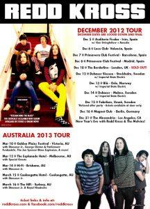 Red Kross gira española y europea 2012
