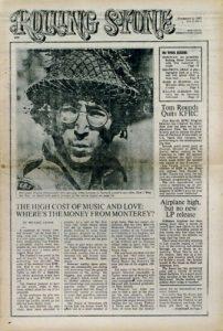 Rolling Stone magazine celebra el 45 aniversario de su primera portada con John Lennon