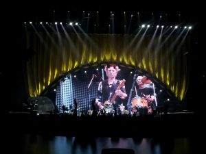 Rolling Stones 20 Nov 2012 Mick Taylor, Bill Wyman, Eric Clapton y Florence Welch London O2 Arena
