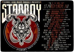 Starroy gira española y Europea Spain Europe 2012 Ocho for Willow