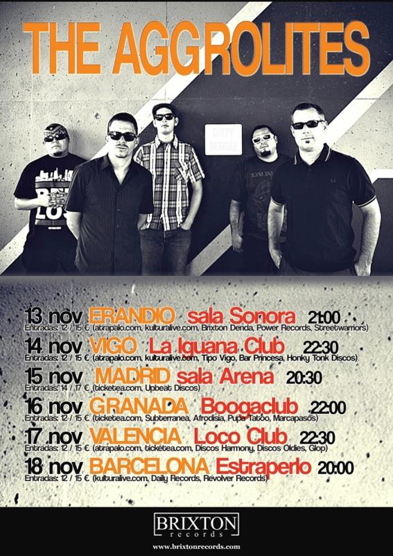 """The Aggrolites en España 2012 presentando """"Unleashed Live Vol. 1"""""""
