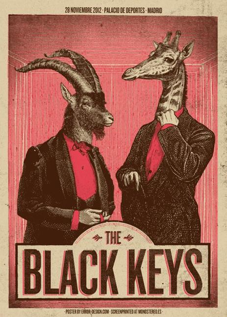 The Black Keys en concierto Madrid 28 noviembre 2012