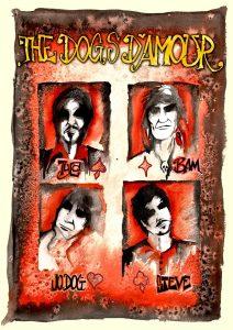 The Dogs D'Amour gira en España y Europa celebrando In the Dynamite Jet Saloon en el 2013