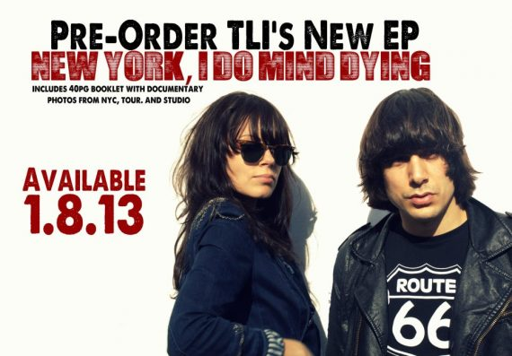"The Last Internationale ""New York, I Do Mind Dying"" nuevo EP"