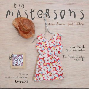The Mastersons en España Bilbao y Madrid presentando Birds Fly South 2012. Autora Sonia M. Paradero