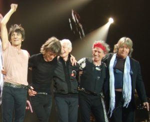 The Rolling Stones 20 Nov 2012 Mick Taylor, Bill Wyman, Eric Clapton y Florence Welch London O2 Arena