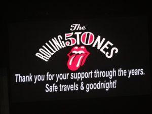 The Rolling Stones 50 Anniversary O2 London Arena 25 nov 2012
