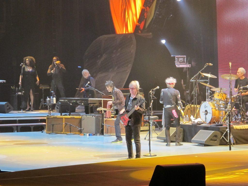 The Rolling Stones 50 anniversary London O2 29 november 2012 Bill Wyman