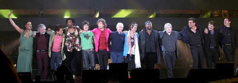 The Rolling Stones arrancan su gira 2012 en Londres