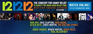 The Rolling Stones en el 12.12.12.The Concert for Sandy Relief, el gran concierto benéfico que el próximo 12 de diciembre