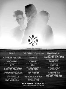 Black Rebel Motorcycle Club nuevo disco y gira europea en 2013 Tour