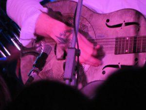 C.W. Stoneking & his Primitive Horn Orchestra en concierto gira española 2012