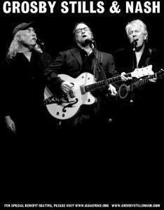 Crosby, Stills & Nash gira europea 2013 European Tour