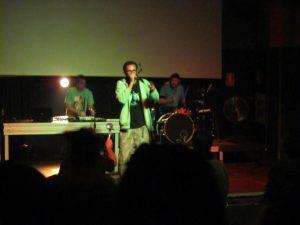 Dactach Chando y iLLBiLLY HiTEC durante su concierto en La Laguna noviembre 2012