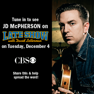 """JD McPherson Twinkle (Little Christmas Lights """"Signs & Signifiers"""""""