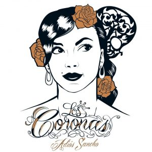 """Los Coronas """"Adios Sanch""""o 2013 nuevo disco, Portada realizada por Alvaro Pérez Fajardo diseñador (Fly Factory)"""
