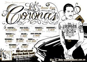 Los Coronas gira en Australia en diciembre y enero 2013 y nuevo disco