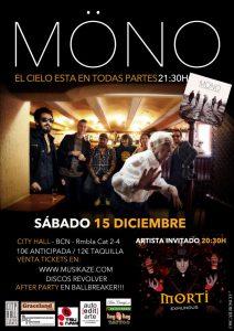 Möno El cielo está en todas partes 2012 en concierto