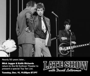 Mick Jagger Late Show David Letterman