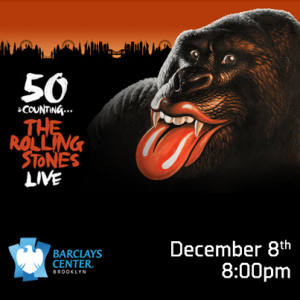 The Rolling Stones Brooklyn Barclays Center December 8 2012