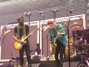 The Rolling Stones Gary Clark Jr. Brooklyn New York 50 and counting 8 dec 2012