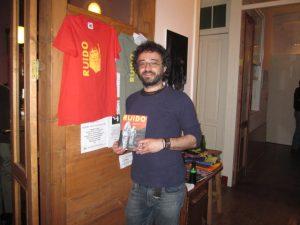 Yose Fernández cofundador del fanzine RUIDO