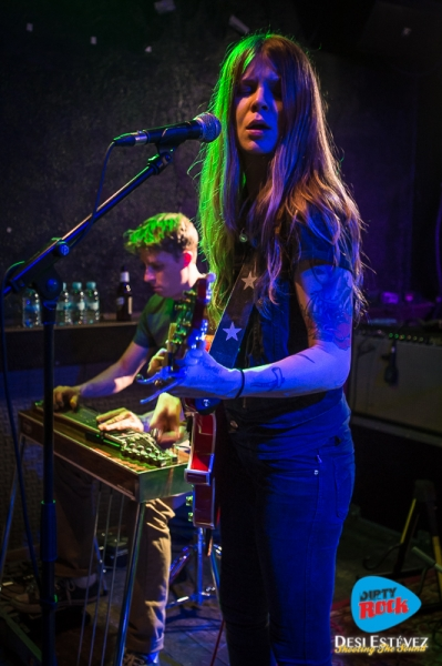 Shara Shook & The Disarmers Barcelona 2018.