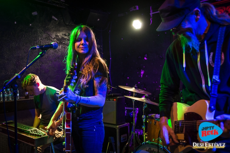 Shara Shook & The Disarmers Barcelona 2018.2