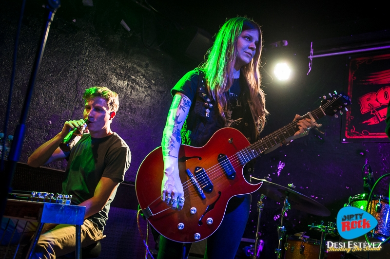 Shara Shook & The Disarmers Barcelona 2018.4
