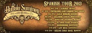 Entrevista a Buffalo Summer gira española Spanish Tour 2013