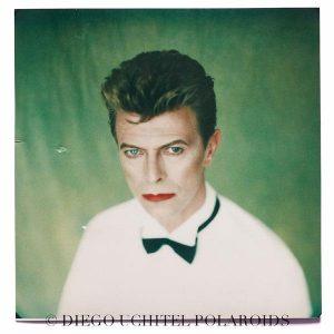 """David Bowie por Diego Uchitel """"Polaroids"""""""