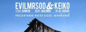 EvilMrSod & Keiko Weekend nuevo disco  Enero 2013