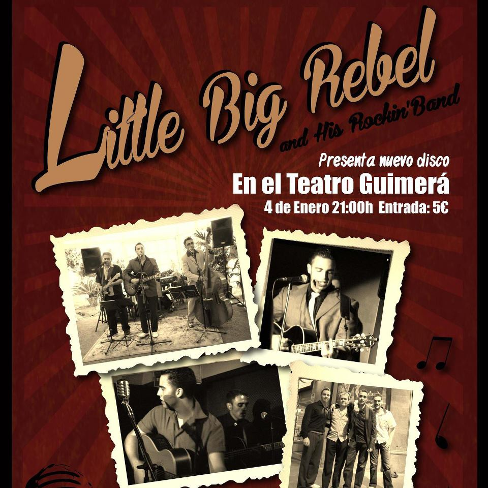 "Little Big Rebel ""Comin' Back Home"" nuevo disco 2013"