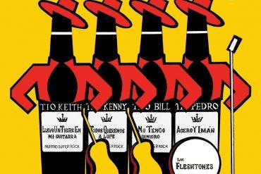 Los Fleshtones Quatro X Quatro