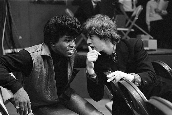 Mick Jagger produce una película sobre James Brown