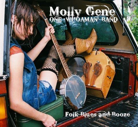 Molly Gene One Whoaman Band en Canarias gira española European tour 2013
