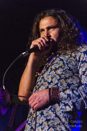 Red Marks en concierto en The Paper Club el 18 de enero de 2012