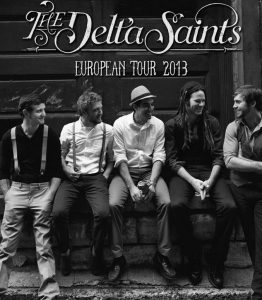 The Delta Saints gira española europea Death Letter Jubilee 2103
