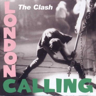 Portada del album London Calling de The Clash