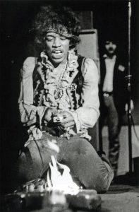 Jimi Hendrix, Foto de la secuencia de Ed Caraeff