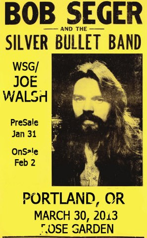 Bob Seger and the Silver Bullet Band con Joe Walsh nueva gira