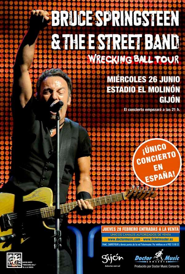 Bruce Springsteen agota las entradas de Gijón 2013