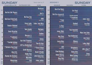 Coachella Festival 2013 horarios domingo 21 abril
