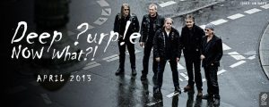 Deep Purple Now What!, nuevo disco y gira mundial 2013