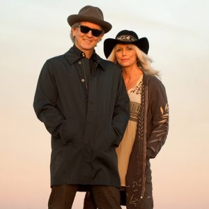 "Emmylou Harris & Rodney Crowell ""Old Yellow Moon"""