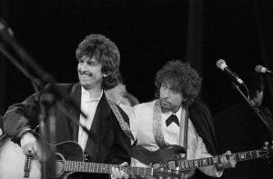 George Harrison y Bob Dylan 70 años, 2013
