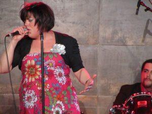 Hannah Williams & The Tastemakers en La Laguna Tenerife Spain 2013 tour