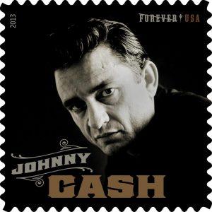 Johnny Cash 80 años US Postal Service 2013