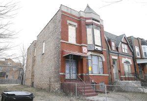 La casa de Muddy Waters en el 4339 South Lake Park Ave de Chicago