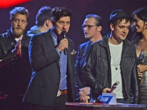 Mumford and Sons BRIT Award 2013